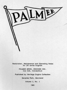 Palmer ZR Booklet
