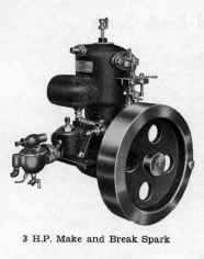 Acadia 3HP Make and Break Spark Marine Engine